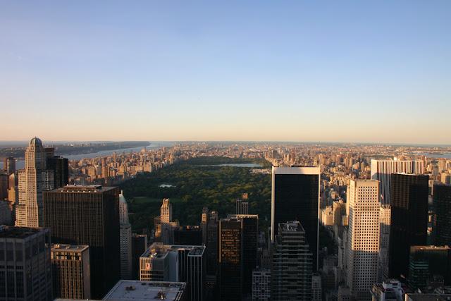 Vista dal Rockefeller center (Top of the rock)-New York