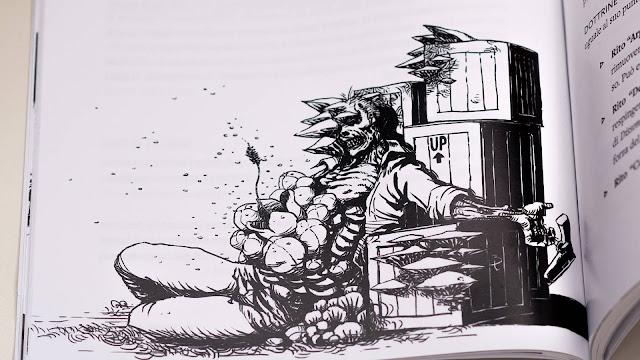 Dead Air: I Giorni della Piaga (un artwork interno al manuale)