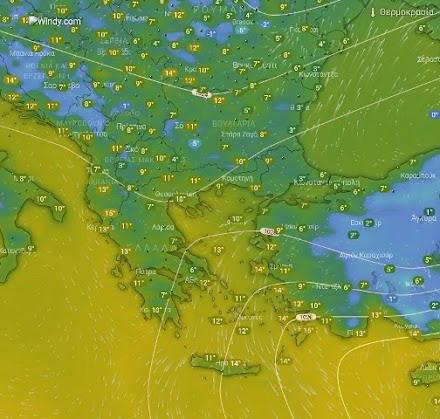 Ηλιοφάνεια αύριο σε όλη τη χώρα - Καλός ο καιρός στην Ελασσόνα
