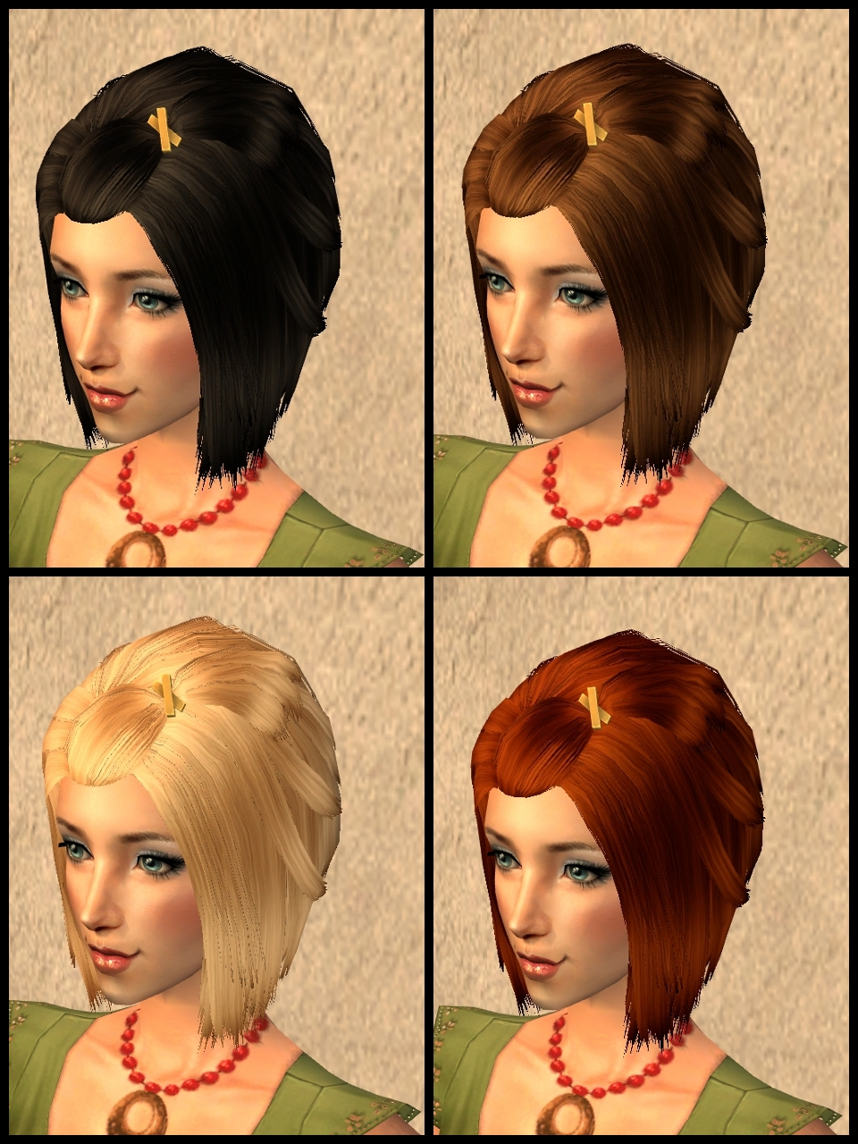 Theninthwavesims The Sims 2 Ts3 Uni Short Cheer Hair For The Sims 2
