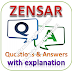 ZENSAR Written Test: Aptitude, Reasoning, English; Questions and Answers with Explanations