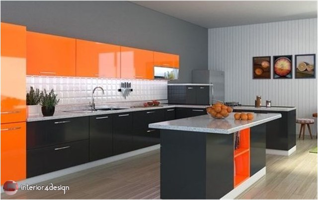 Colorful Kitchen Designs 8