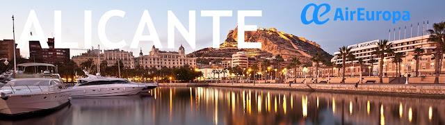 Ruta Vigo - Alicante, Air Europa