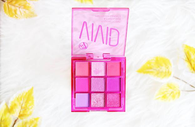 Paleta rosa de w7 muy pigmentada