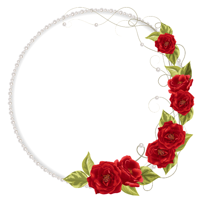 Garden roses Pearl necklace Flower, Flowers invitations, red roses wreath illustration, flower Arranging, heart, artificial Flower png free png download