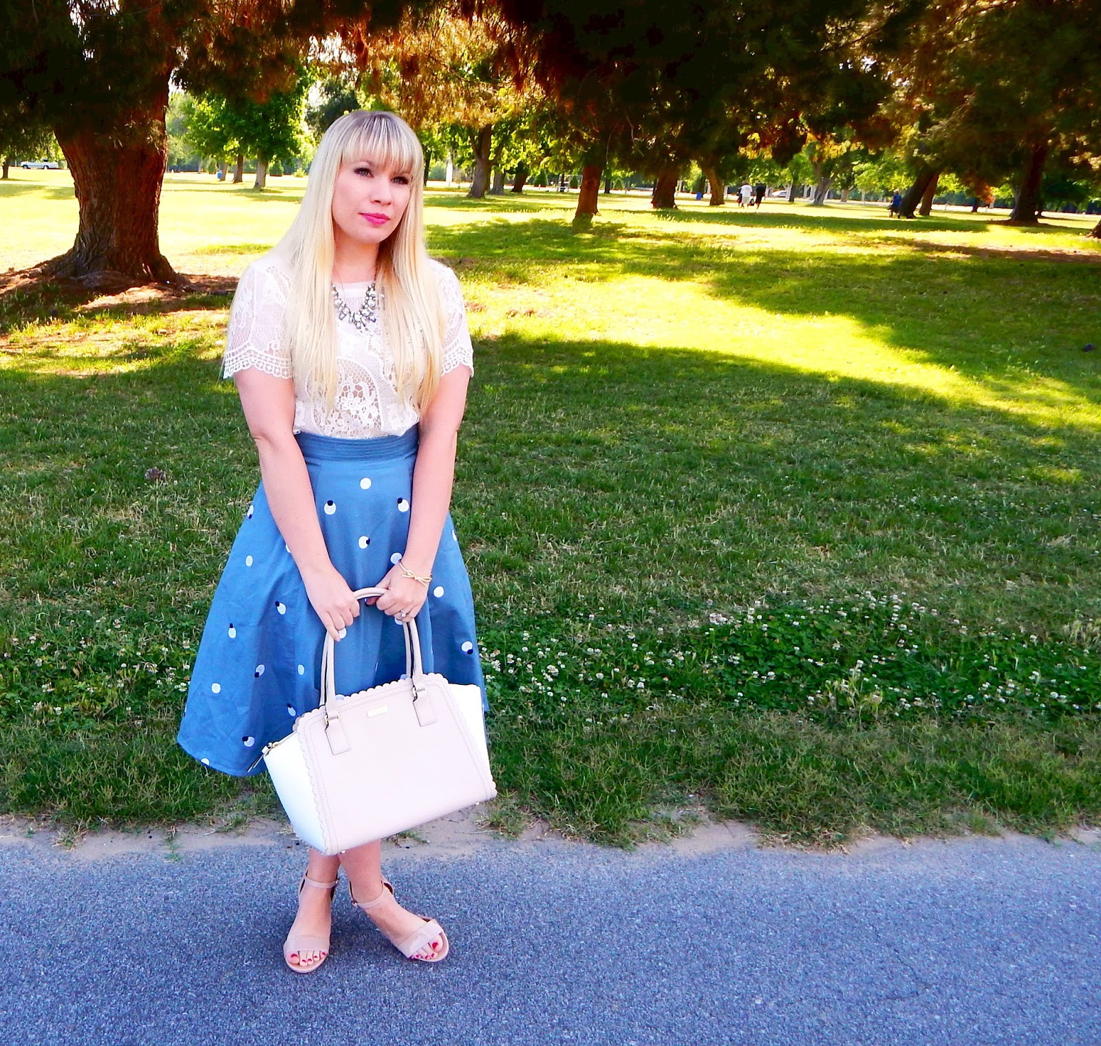 Polka Dot Midi & eShakti Review