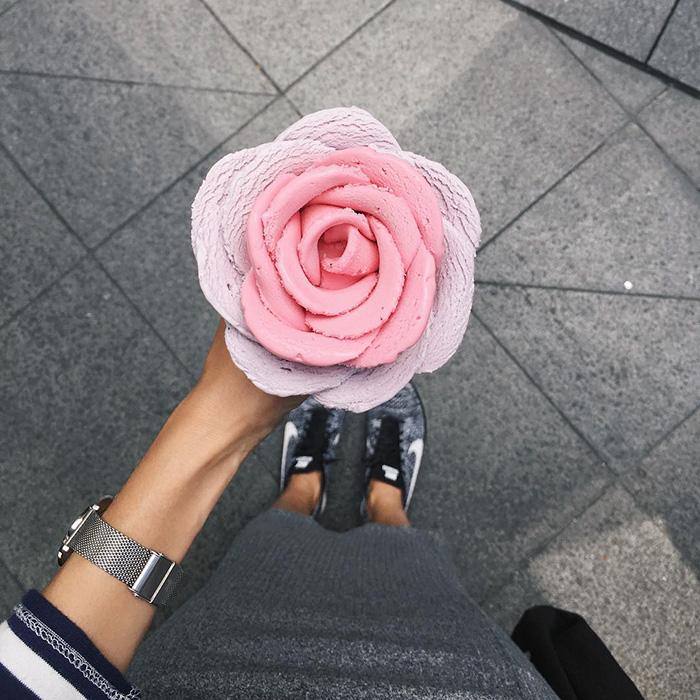Helados en forma de flor son la nueva tendencia sabrosa en Australia