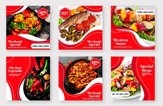 Iklan Instagram Makanan dan Rumah Makan