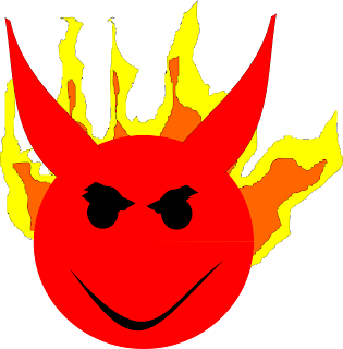 Fire Devil Smileys
