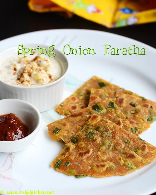 spring-onion-paratha-recipe