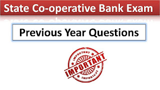 Tamil Nadu Cooperative Bank Model Question Papers & Exam Pattern