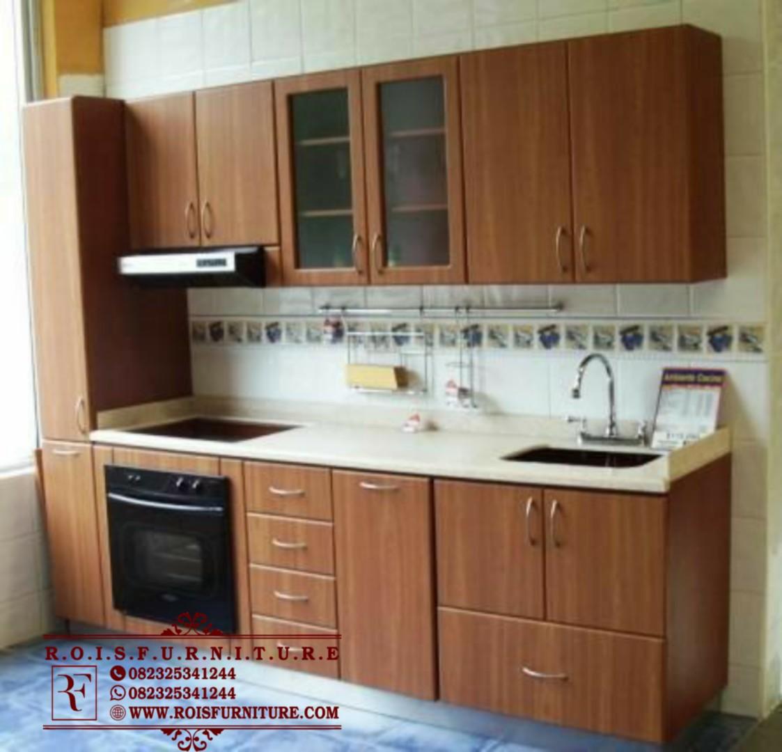 Set Lemari Dapur Minimalis Terbaru Rois Furniture Jepara