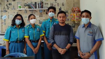 Penarikan Siswa Praktek Kerja Industri SMK TI Bali Global Badung