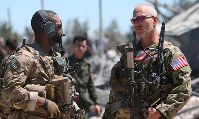 احتكاك جديد بين القوات الامريكية والروسية على الارض وفي الجو بمنطقة تربة سبية شرقي قامشلو