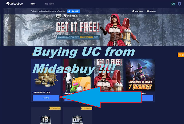 Buy PUBG UC from Midasbuy ! Midasbuy PUBG INDIA