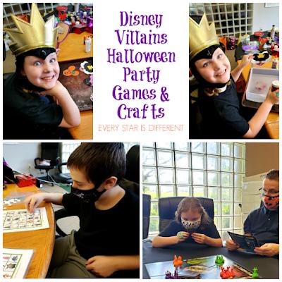 Disney Villains Halloween Party Games & Crafts