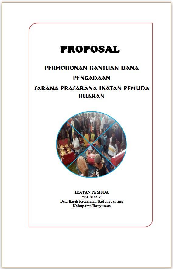 Contoh Proposal Pengadaan Sarana Prasarana Ikatan Pemuda Kumpulan