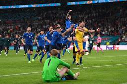 Italia Juara Final Euro 2020, Kalahkan Inggris 3-2 Setelah Adu Penalti