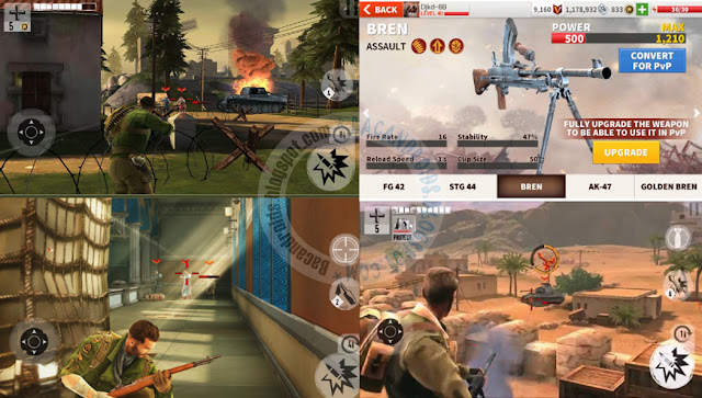 Brother In Arms 3 son of war Apk Data Mod Money