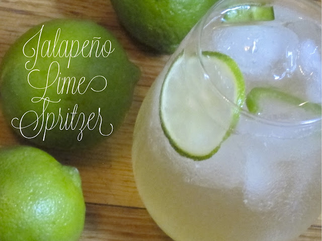 Jalapeño Lime Club Soda Pitcher Drink Recipe