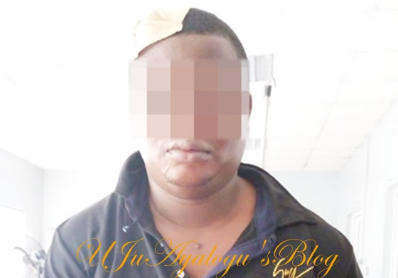Lagos Police Sergeant Robs, Stabs Commuter, Leaves ID Card at Robbery Scene (Photos)