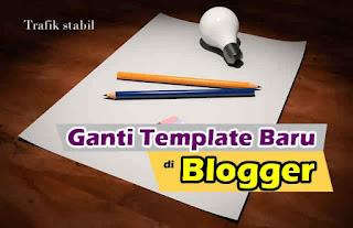 Ganti Template Blogger Baru Dengan Template Kompi Flexible Versi 8.50