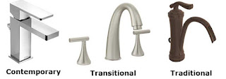 Contemporary, Transitional, Traditional Faucets