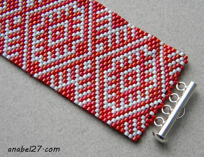 купить старославянские обереги украшение браслет из бисера