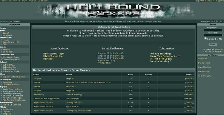 Hellbound Hackers
