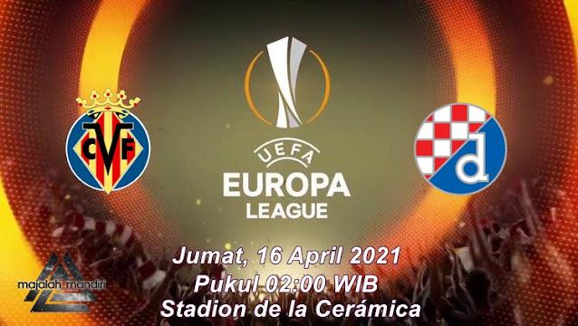 Prediksi Villarreal Vs Dinamo Zagreb