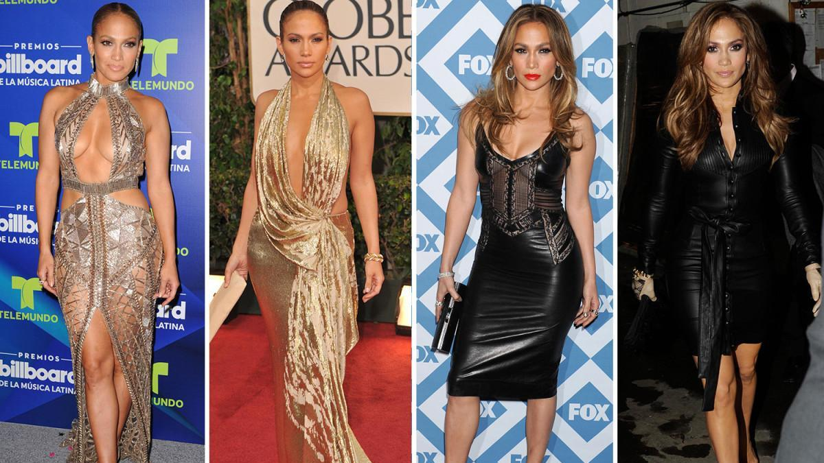 Jennifer Lopez celebrates her 50th Birthday bu you can't tell which picture shows her younger