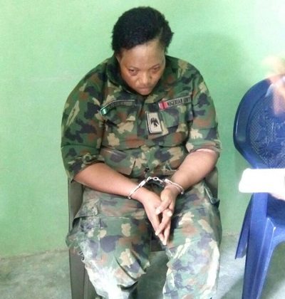 Danger Averted In Abuja As Fake Army Major Nabbed With 3 Bombs-Attached Kids, See Photo