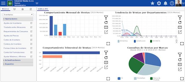 ERP en Nube Como Consultar Márgenes de Ganancia por Clientes en eFactory ERP