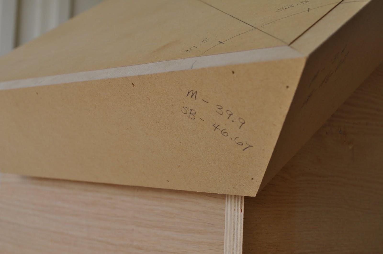 Roof Framing Geometry Exterior Rake Crown Moulding Angles Jig
