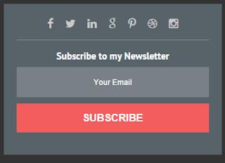Cara Membuat Widget Feedburner Email Berlangganan Untuk Bogger