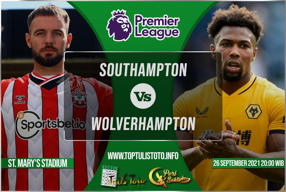 Prediksi Southampton vs Wolverhampton 26 September 2021