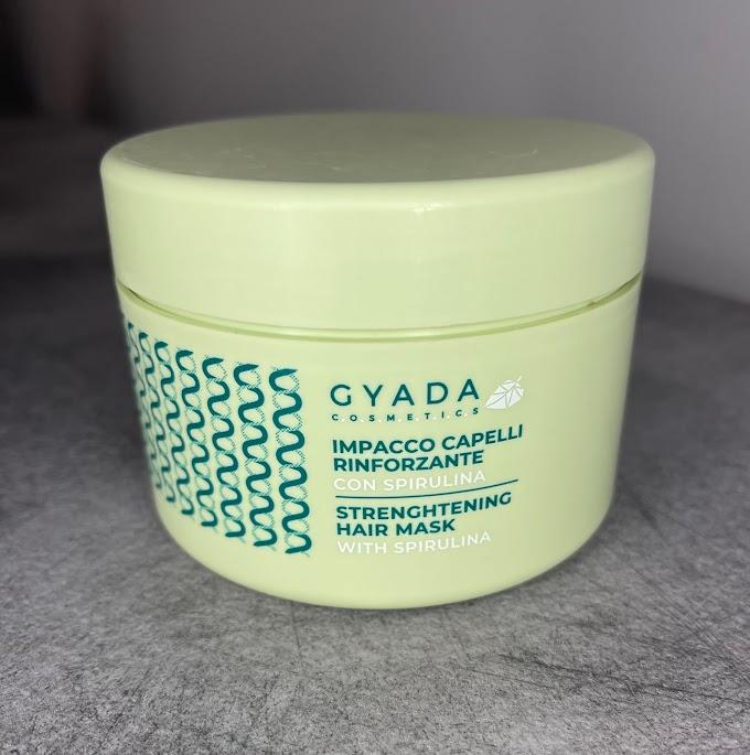 Capelli fragili e deboli? L'impacco rinforzante alla spirulina di Gyada Cosmetcis vi aiuterà!