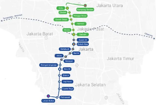 MRT Lebak Bulus Grab