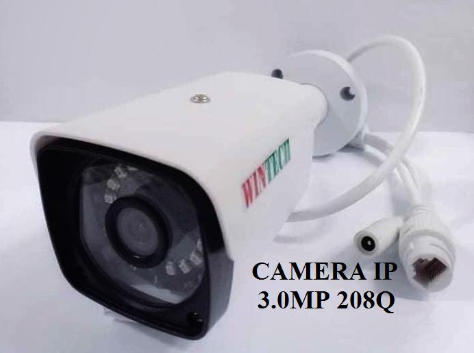 Camera IP WTC-IP208Q độ phân giải 3.0MP