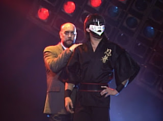 WCW Starrcade 1989 - The Great Muta w/ Garry Hart