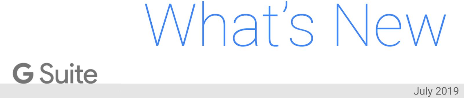 G Suite Updates Blog