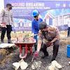 Kapolda Sulsel Lakukan Peletakan Batu Pertama Pembangunan Gedung Bhayangkara