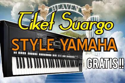Tiket Suargo - Style Yamaha Gratis Download