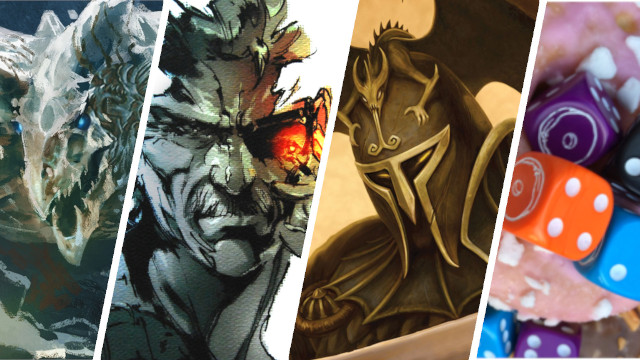 News Collider Board Game Dice and Doughnuts Unpaid Staff, Origins Awards, Metal Gear Solid Dungeons and Dragons Essentials Kit