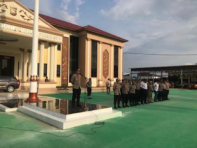 Kapolres Bersama TNI Siap Bersinergi Mengamankan Perayaan Natal Dan Tahun Baru di Tanjabbar