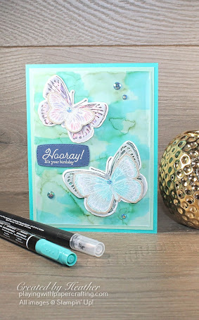 butterfly brilliance with alcohol blend 1