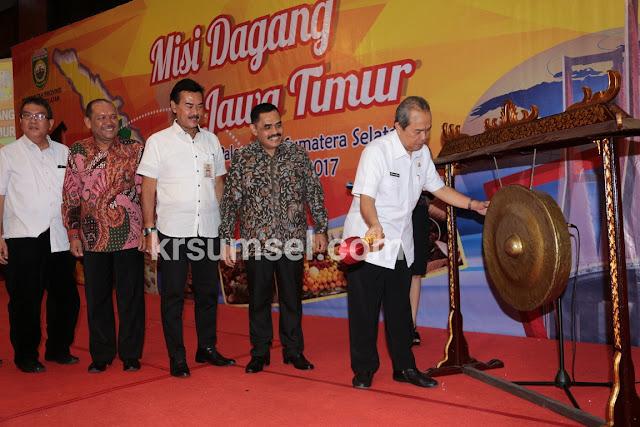 Ishak Mekki Launching Sriwijaya Expo 2017