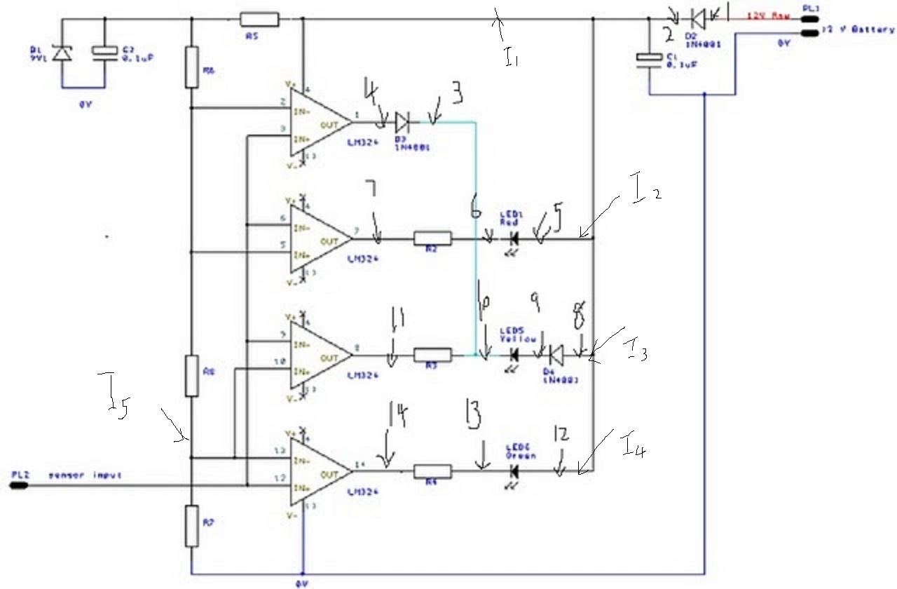 Circuit Diagram Of Oxygen Sensor