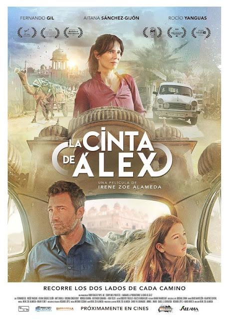 Cartel oficial de 'La Cinta de Álex'