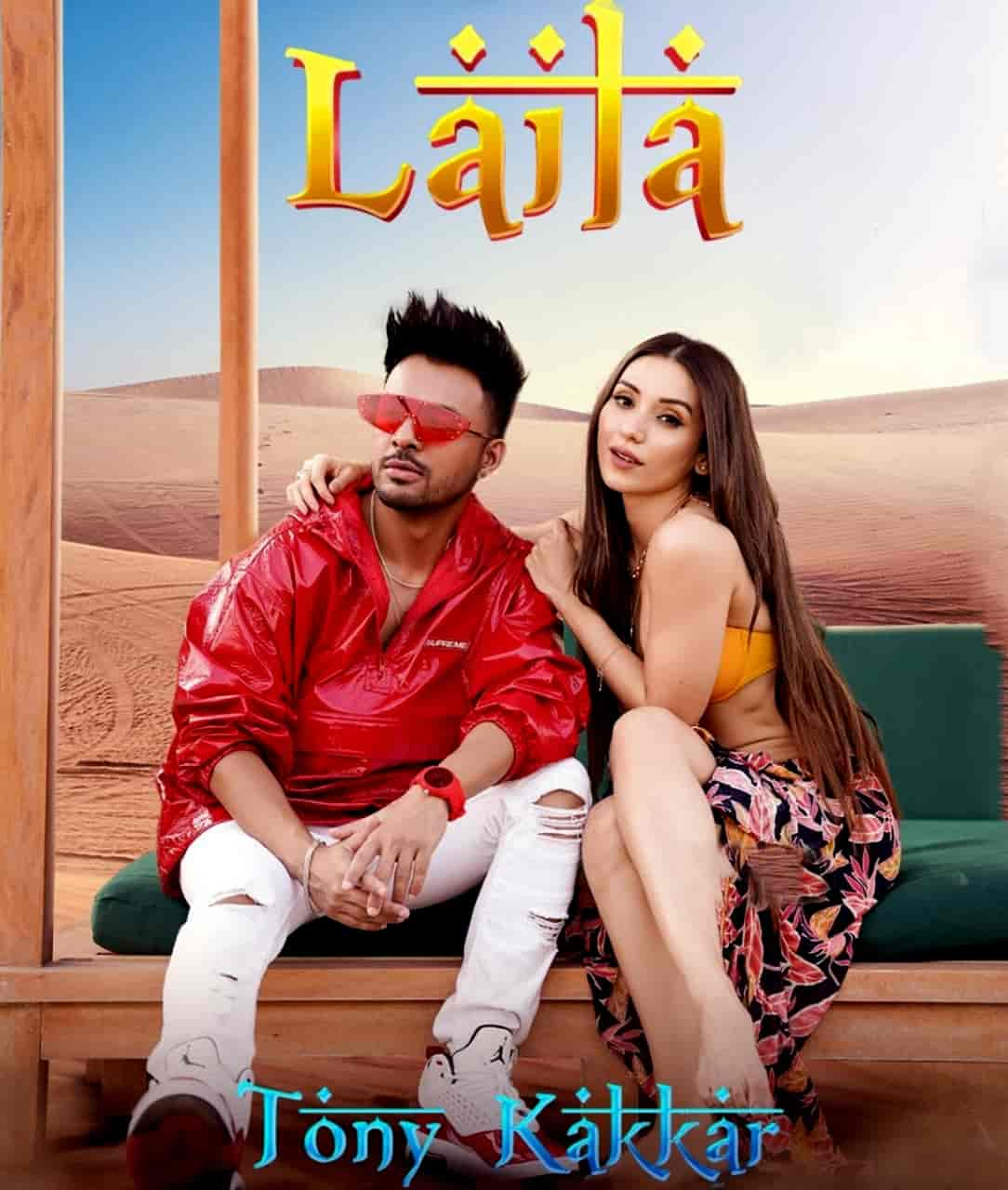 Laila Hindi Dance Song Image Features Tony Kakkar